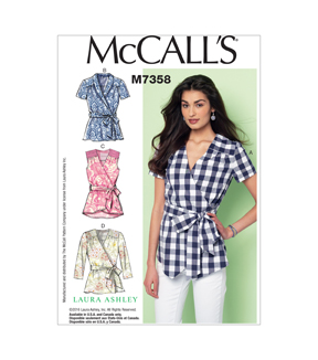 McCall's Misses Top-M7358