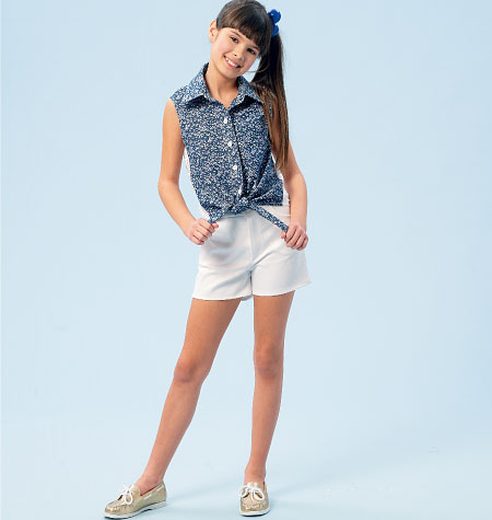 McCall's Girls' Casual-M6951