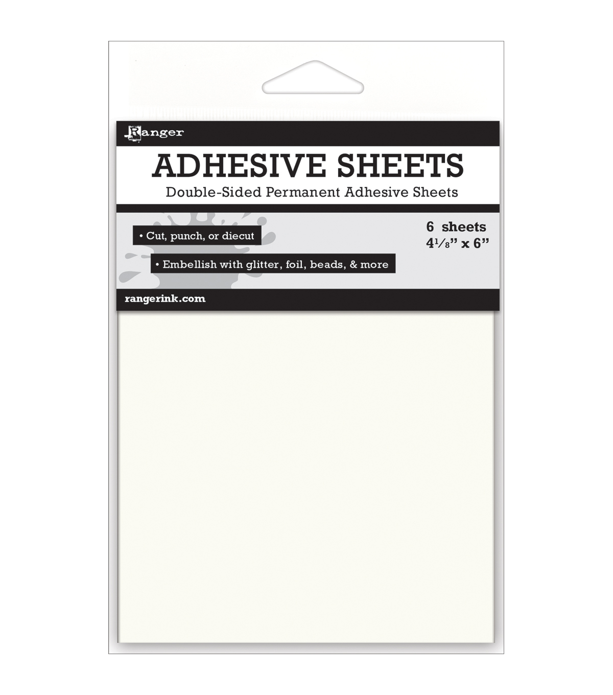 Adhesive Punch Sheet