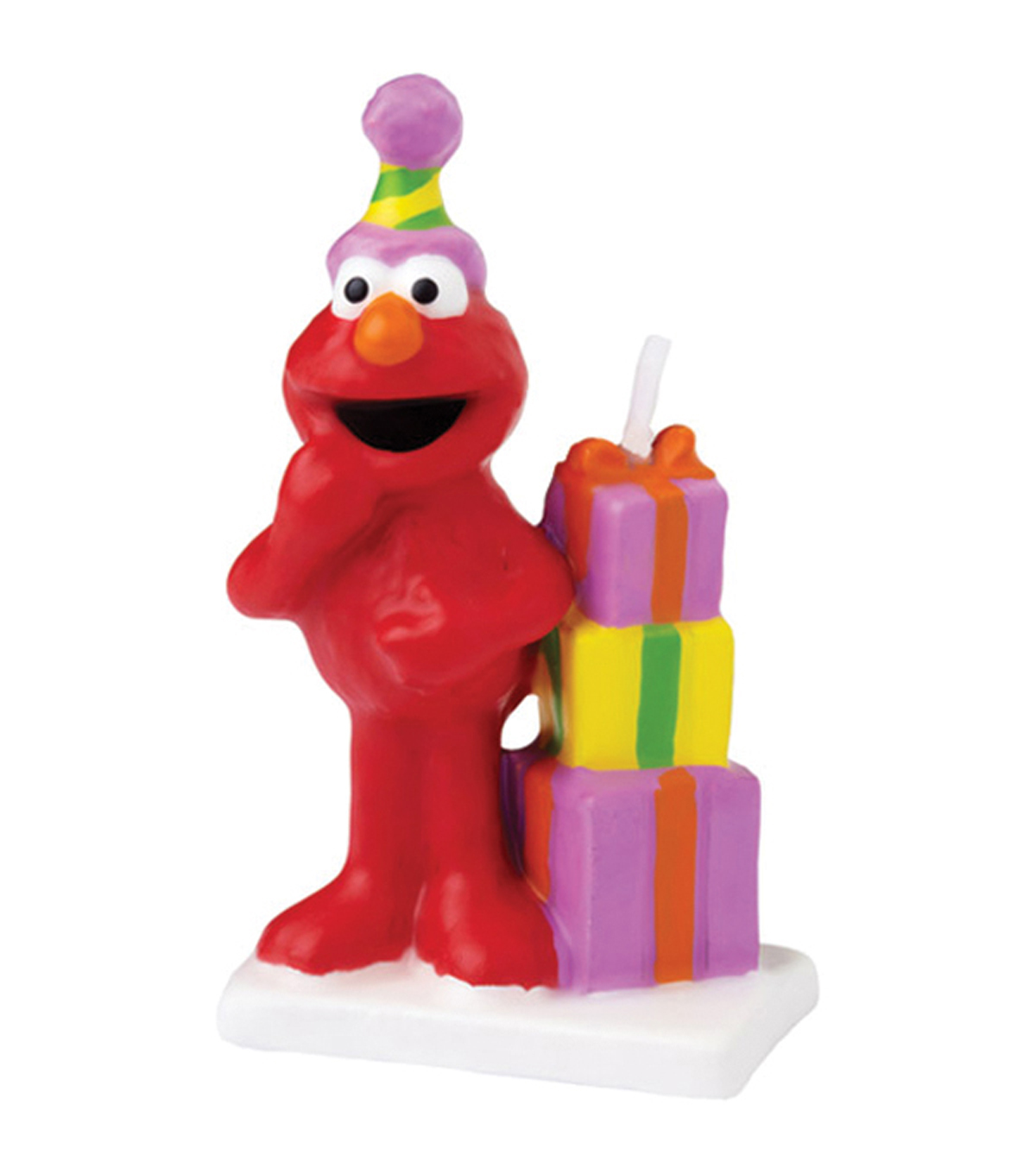 "Wilton® Candle 3.125"" 1/Pkg-Elmo"