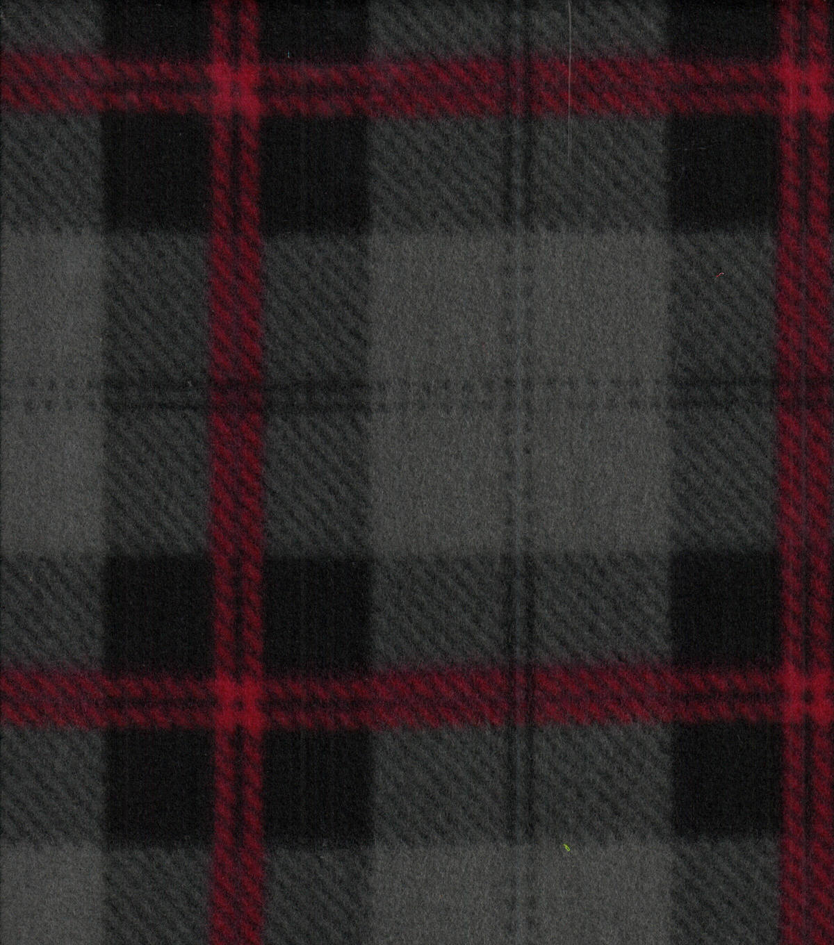 Blizzard Fleece Fabric 58\u0022-Parker Plaid