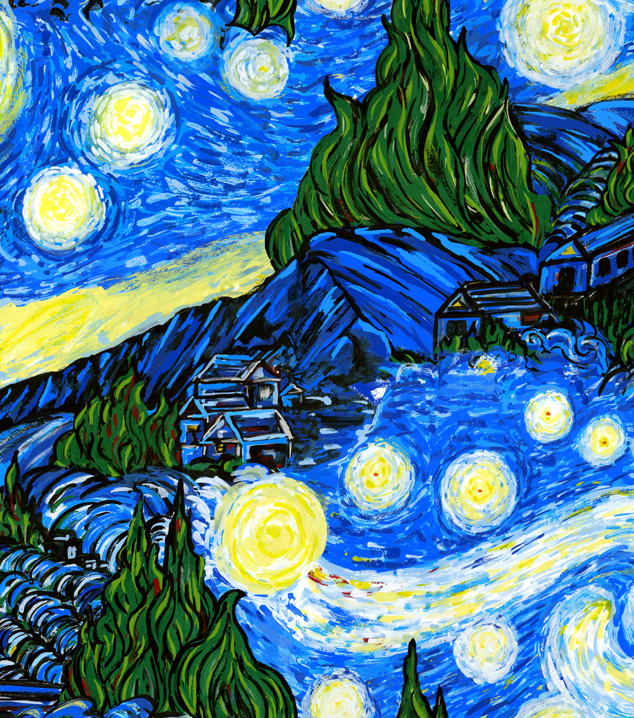 "Keepsake Calico™ Cotton Fabric 44""-The Starry Night"