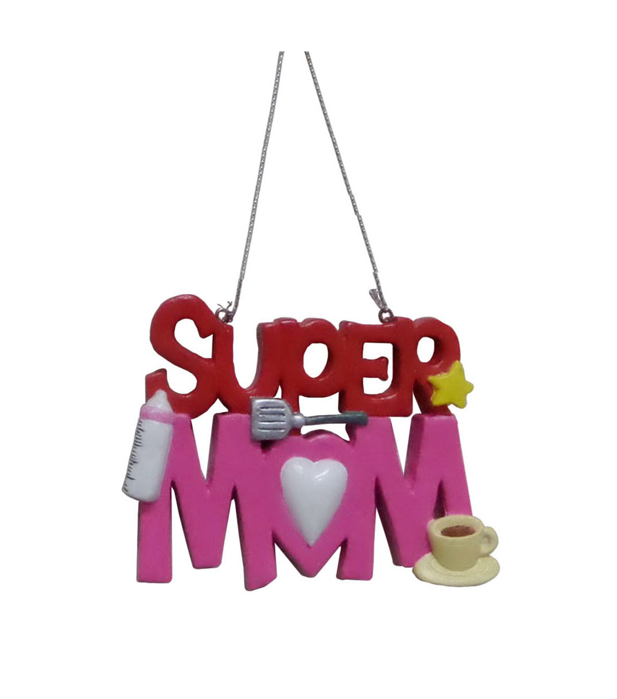Maker\u0027s Holiday Super Mom Ornament