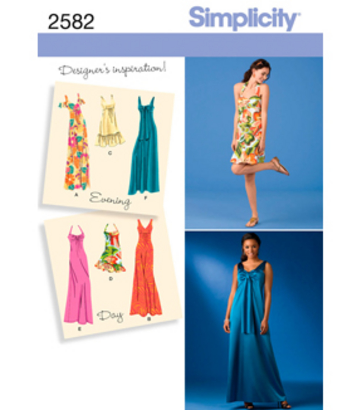 Simplicity Pattern 2582H5 6 8 10 12 -Simplicity Misses