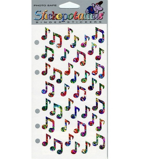 Sticko Stickers-Jazzy Notes