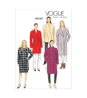 Vogue Patterns Misses Outerwear-V9137