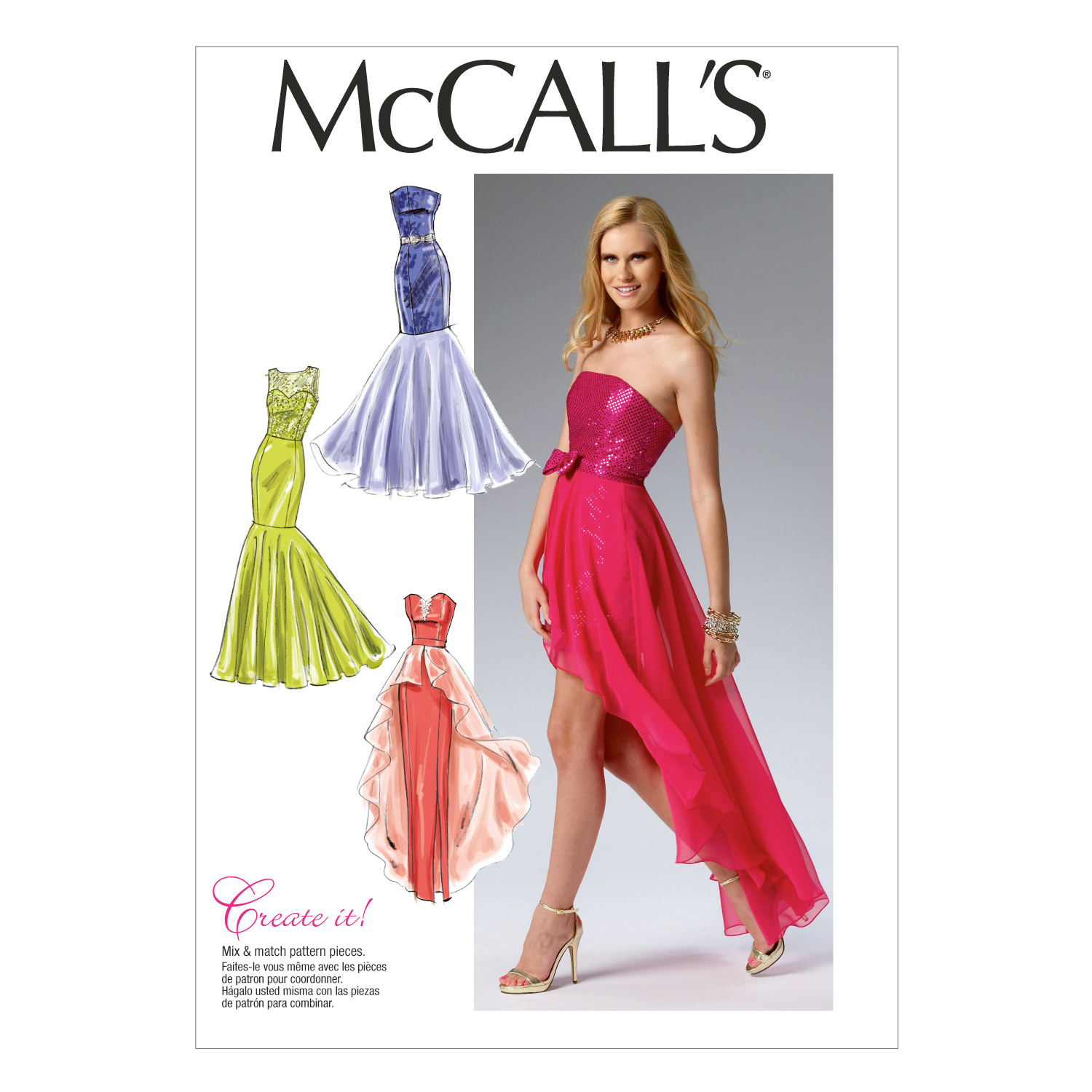 McCall\u0027s Misses Special Occasion-M6838