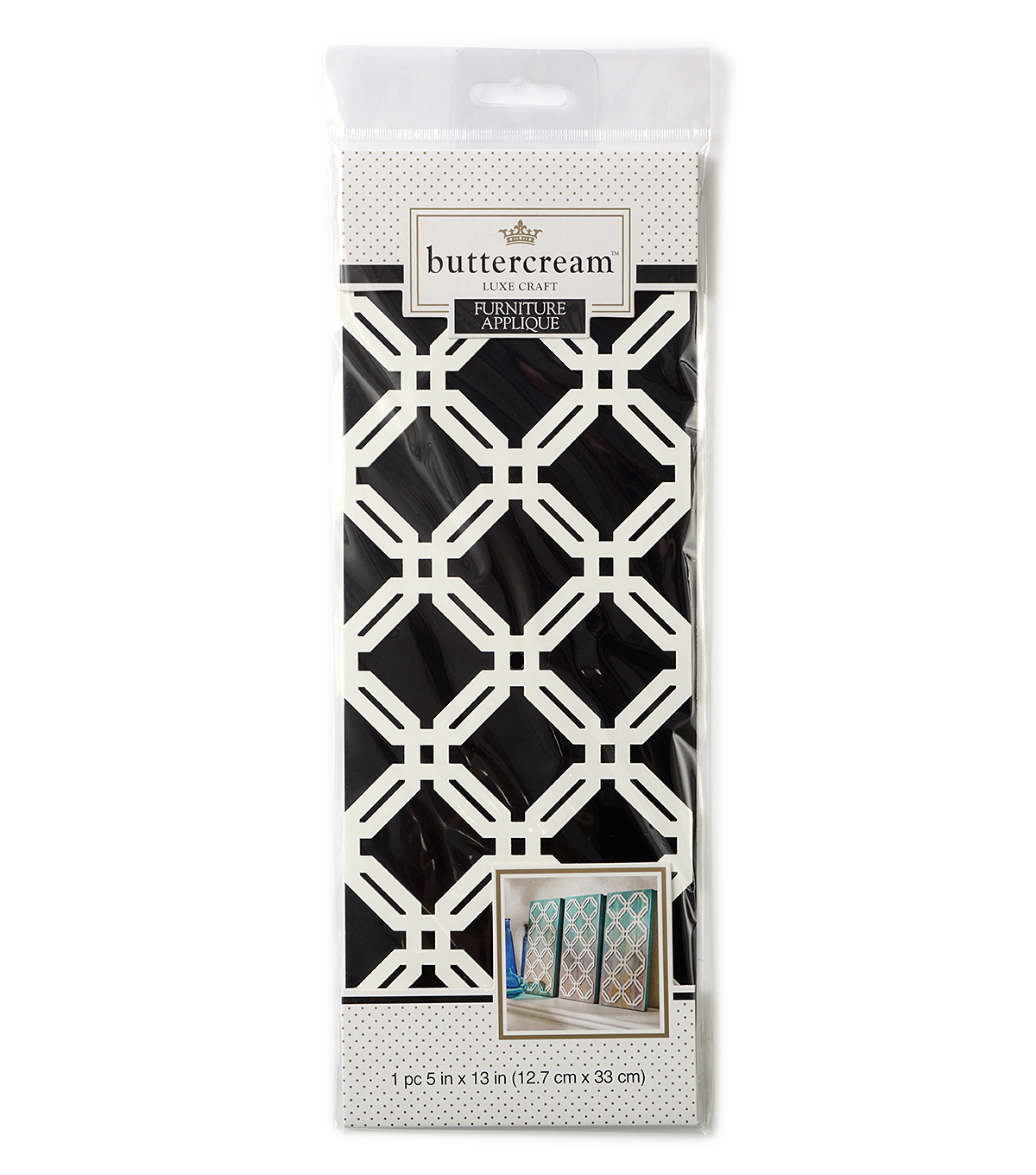 Buttercream™ Audrey Collection Medium Furniture Applique-Latticework