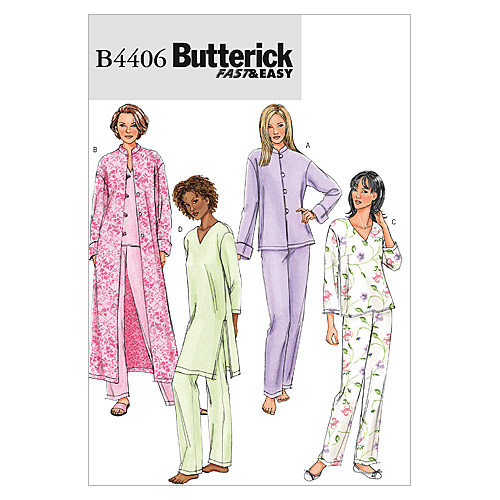 Butterick Misses Sleep & Lounge-B4406