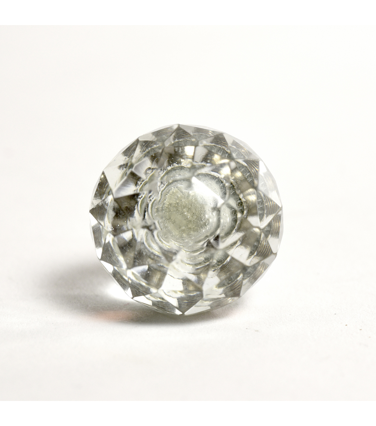 Dritz Home Glass Faceted Ball Knob