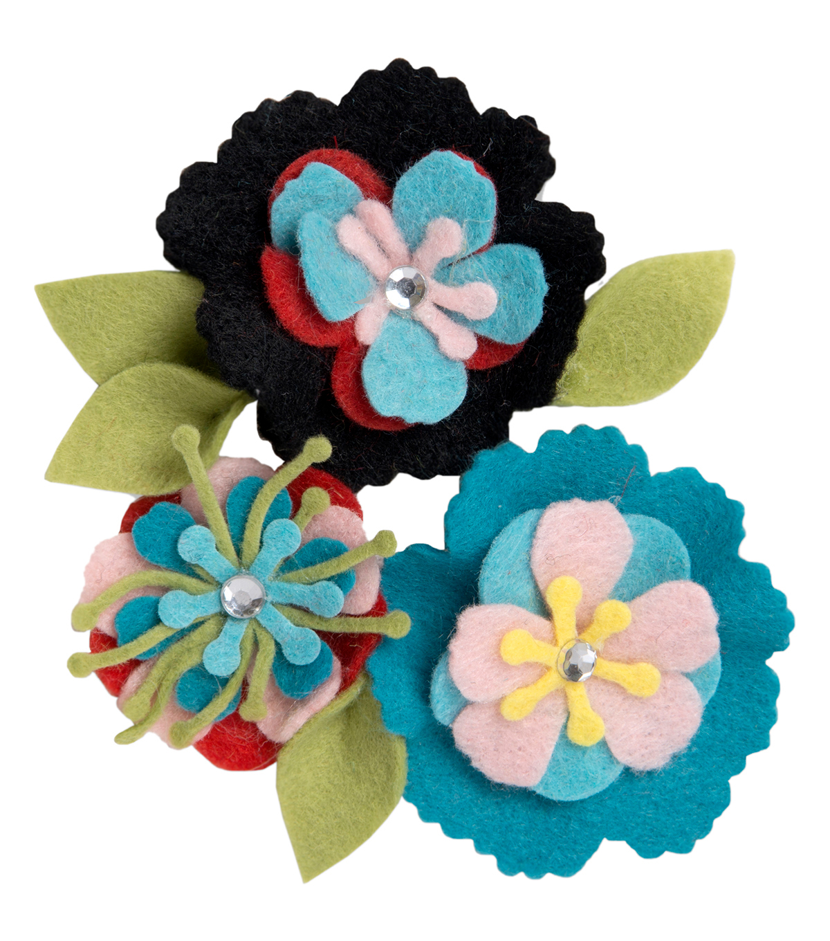 Sizzix® Thinlits™ Eileen Hull Die-Stitchy Flowers & Leaf