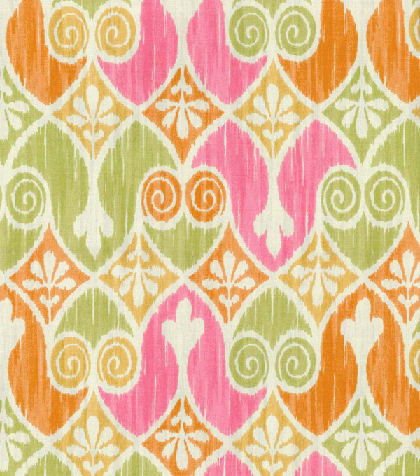 "Home Essentials Print Fabric 45""-Sheraton Ikat Popiscle"