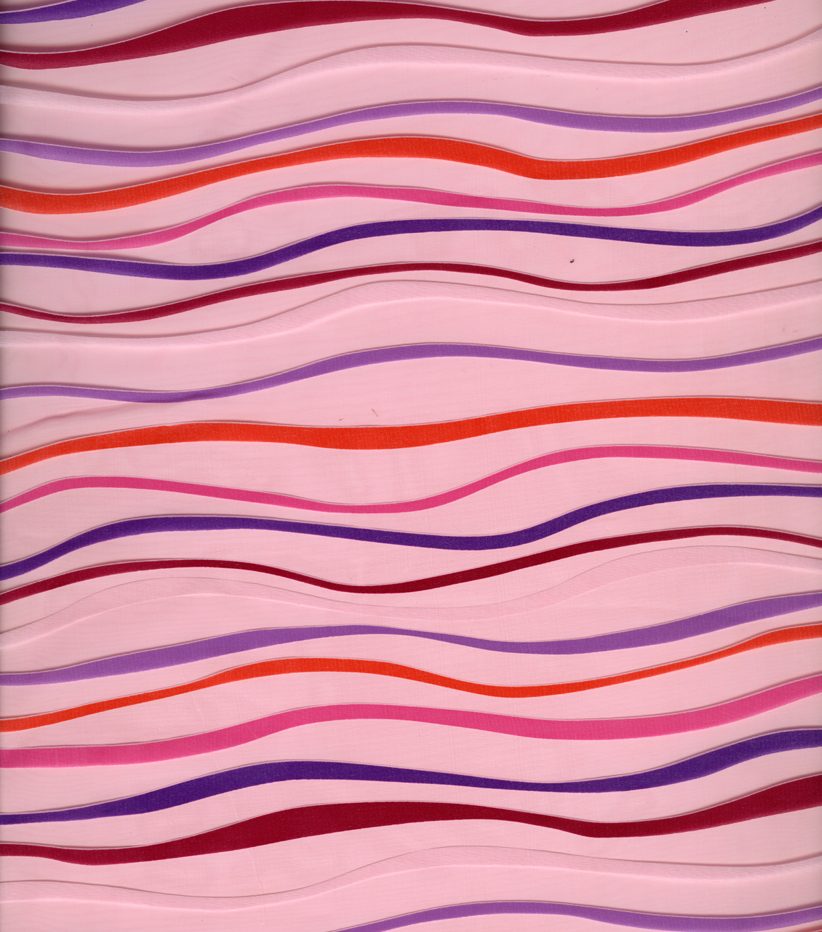 All That Glitters Fabric-Burnout Stripes Fuchsia
