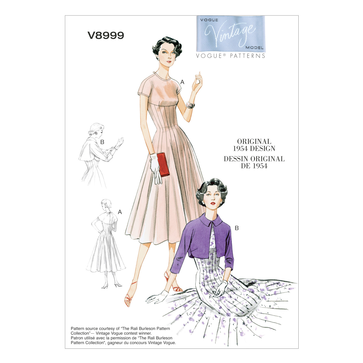 Vogue Patterns Misses Dress-V8999