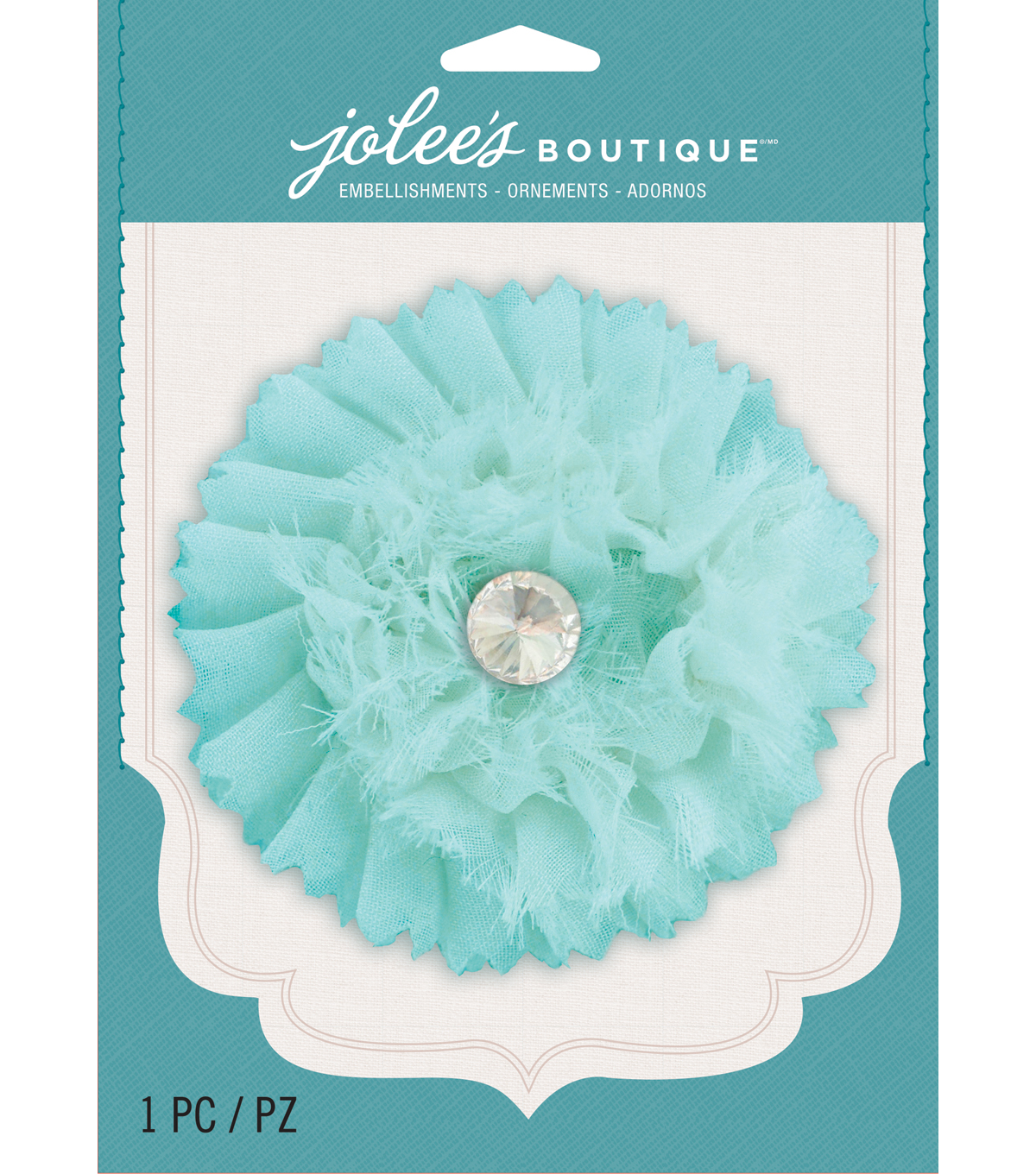 Jolee's Boutique - Blue Gem Large Flower