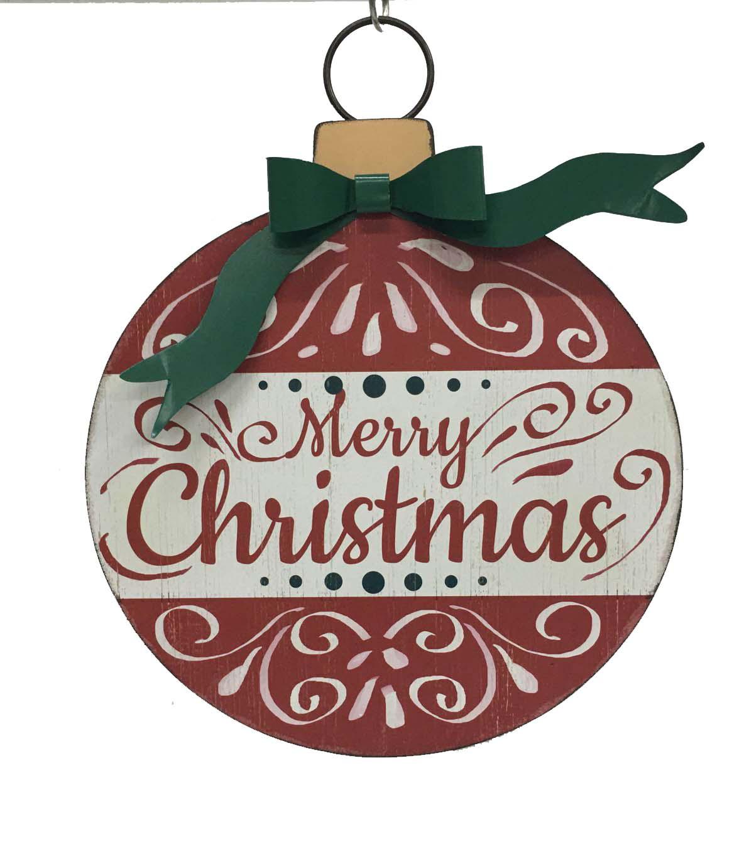 Maker\u0027s Holiday Merry Christmas Wall Decor