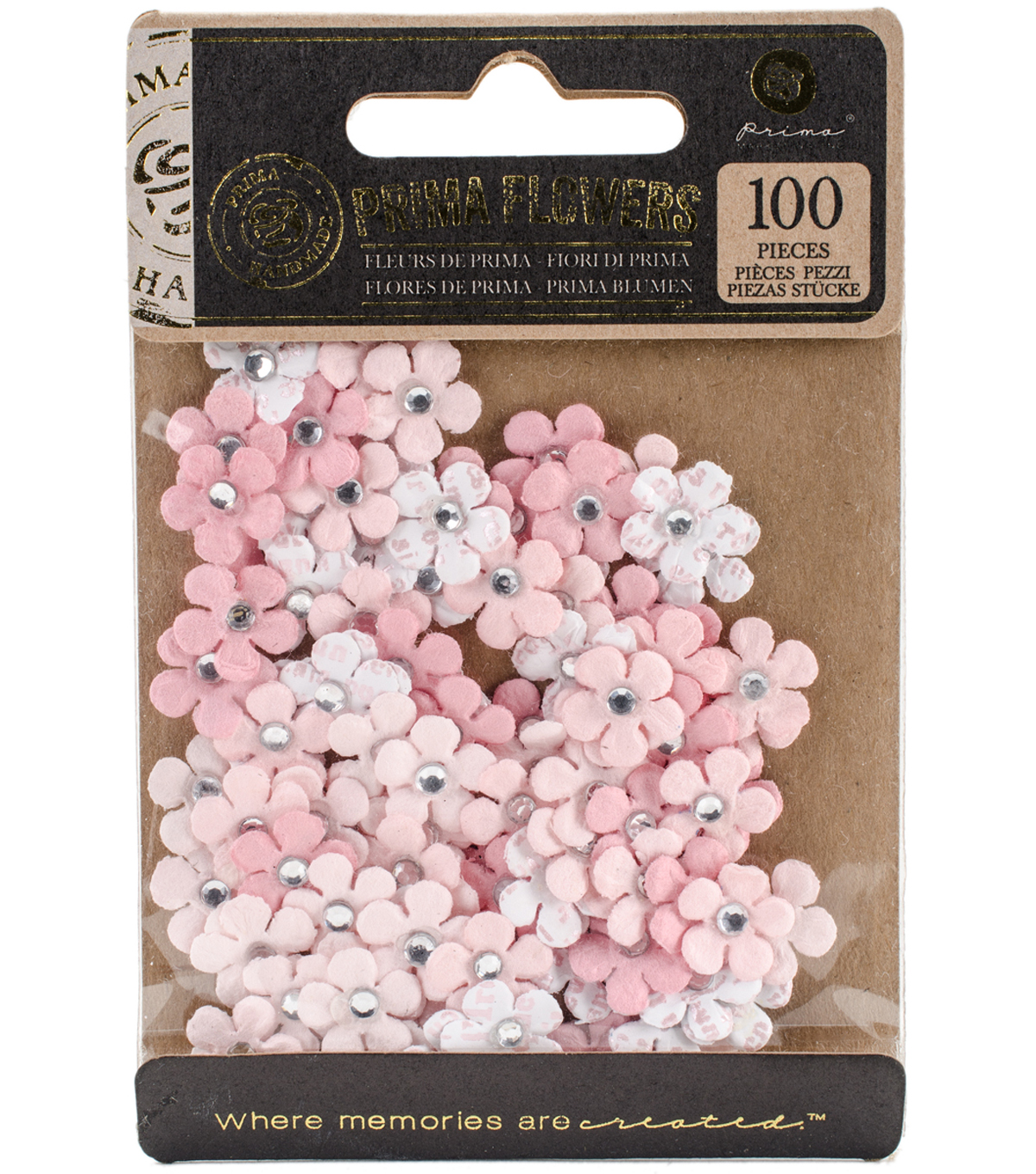Prima Marketing Planner Flowers 100/Pkg-Lola