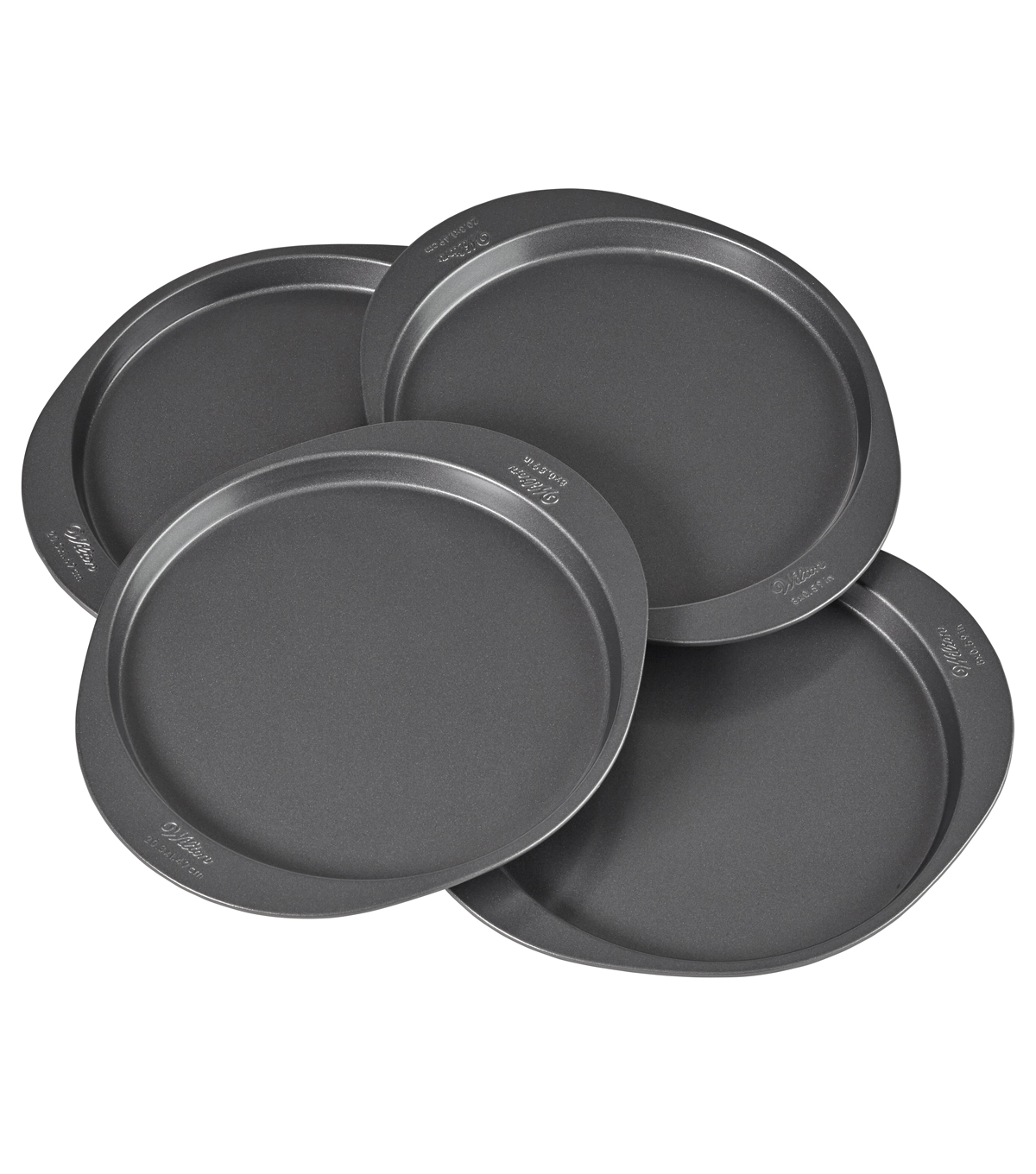 Wilton® Easy Layers 8\u0022 Round Cake Pan Set 4pc
