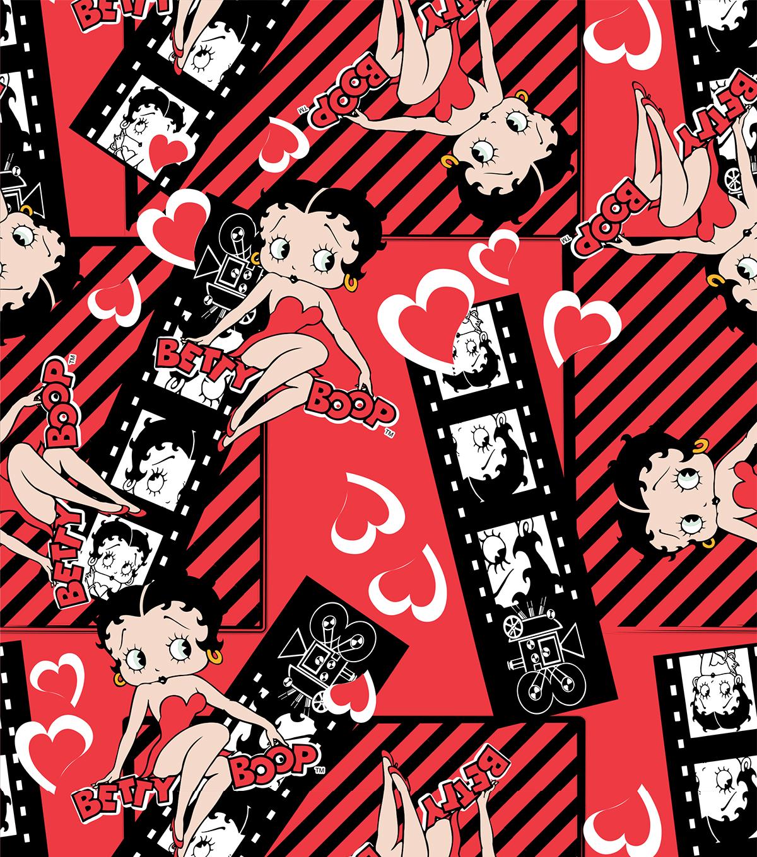 Betty Boop Filmstrip Cotton Fabric | JOANN