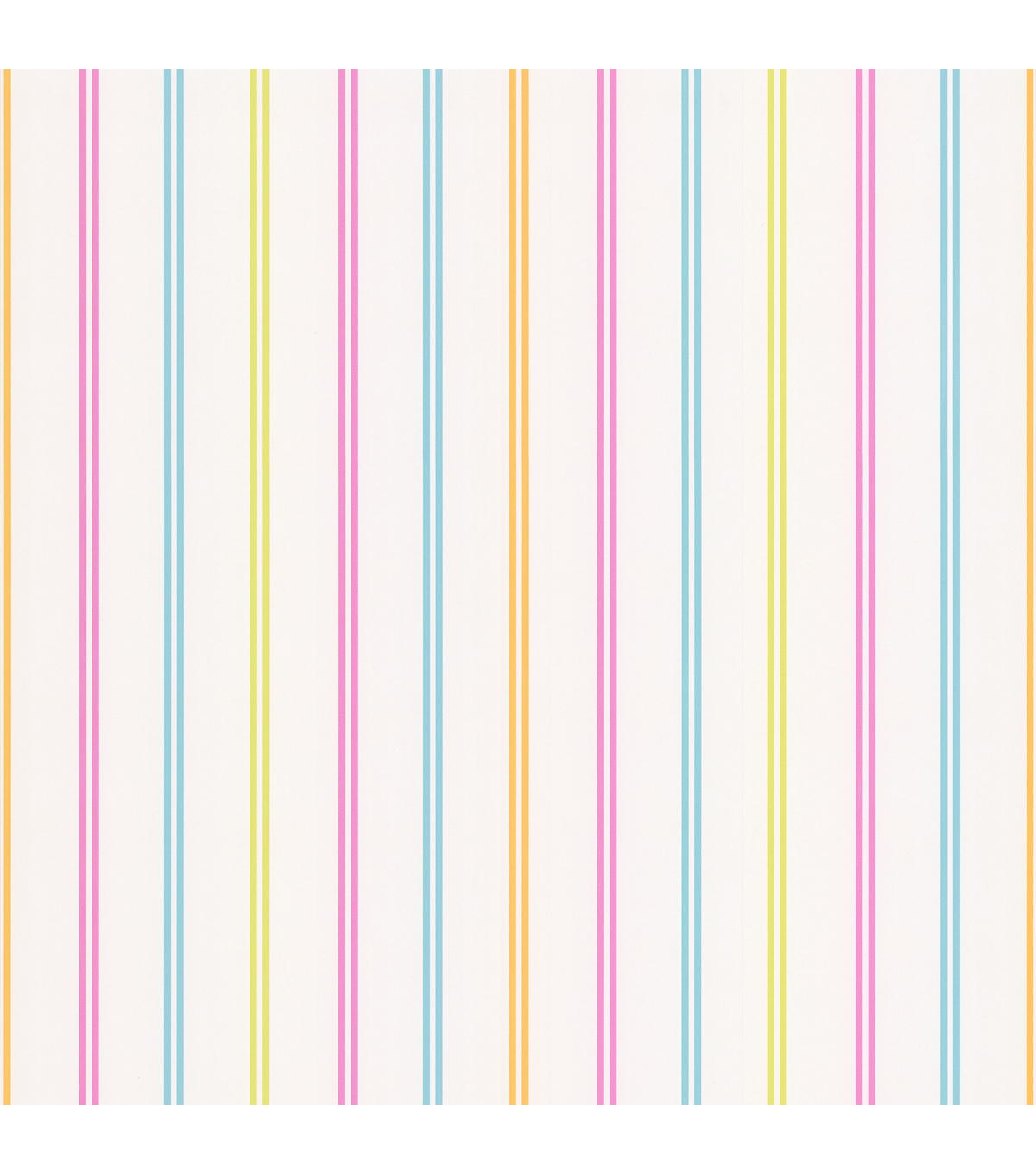 Candy Pink Stripes Wallpaper Sample