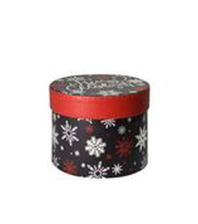 Maker\u0027s Holiday Small Round Box-Chalked Up