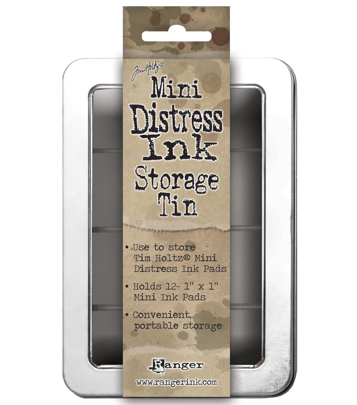 Tim Holtz® Mini Distress Ink Storage Tin