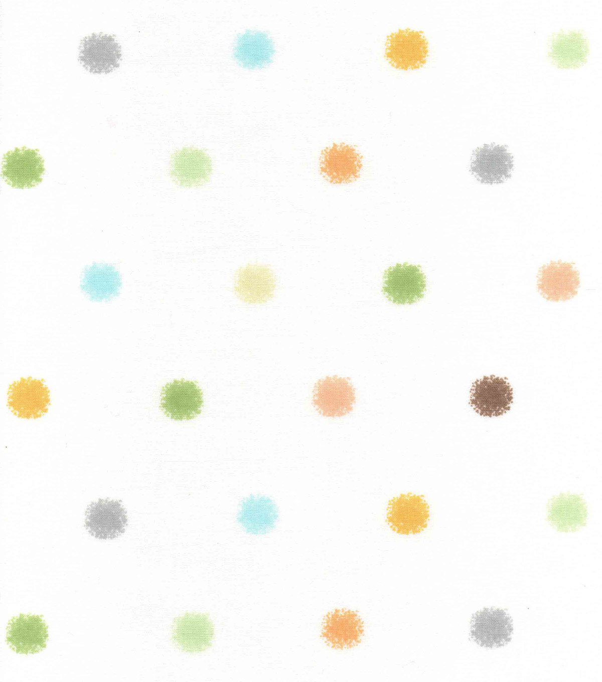 Nursery Cotton Fabric 43\u0022-Safari Large Dot