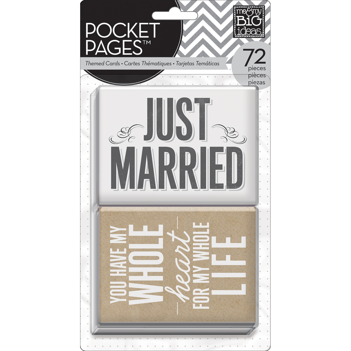 Me&My Big Ideas Wedding Pocket Pages Cards 3\u0022x4\u0022