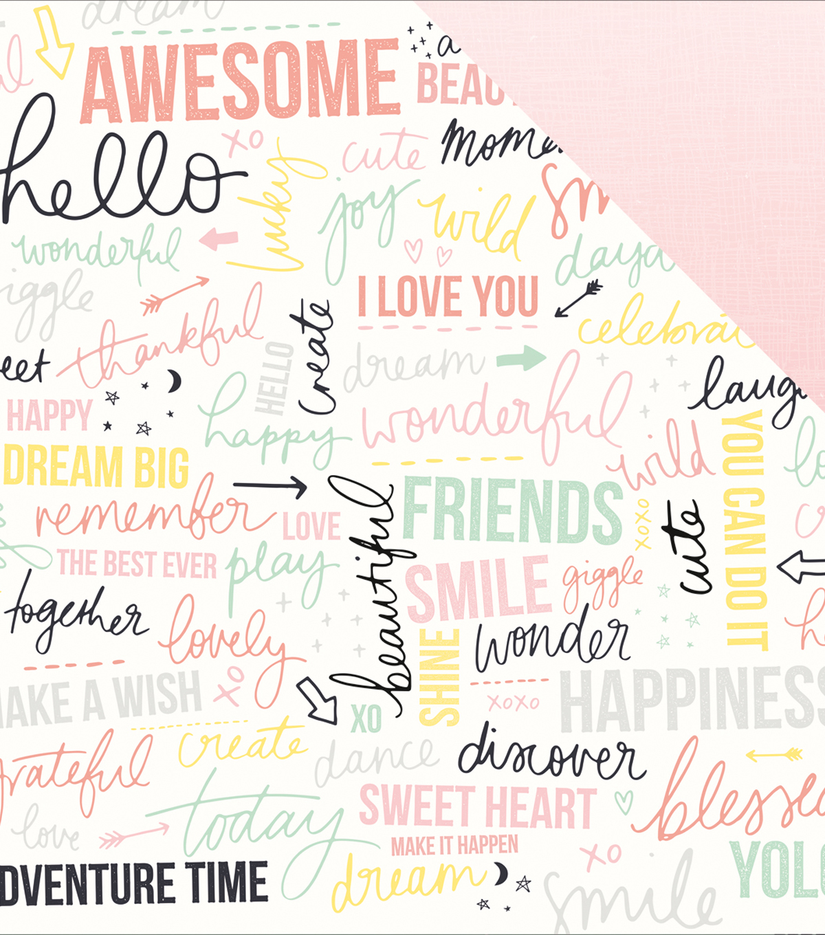 Daydreamer Double-Sided Cardstock 12\u0022X12\u0022-Yolo