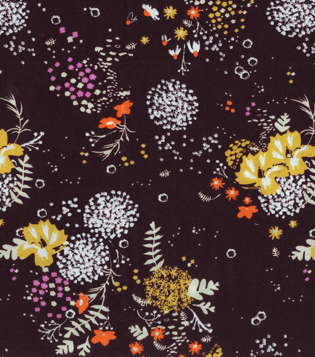 Keepsake Calico™ Cotton Fabric 43\u0027\u0027-Spaced Fall Floral