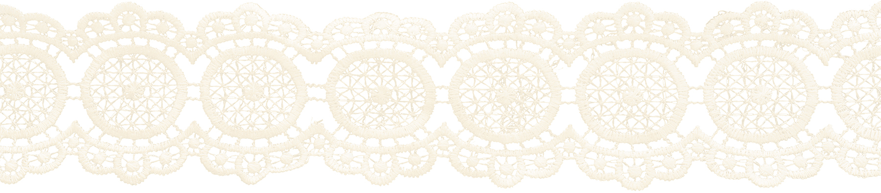 Wrights® Circular Venice Lace Trim 2.25\u0027\u0027x10 yds-Antique White