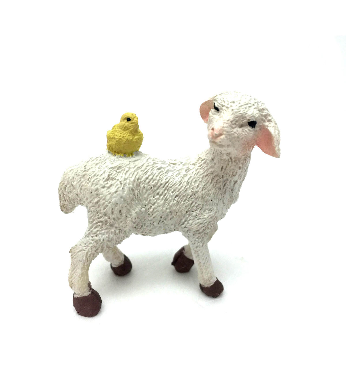 Littles Resin Lamb With Chick
