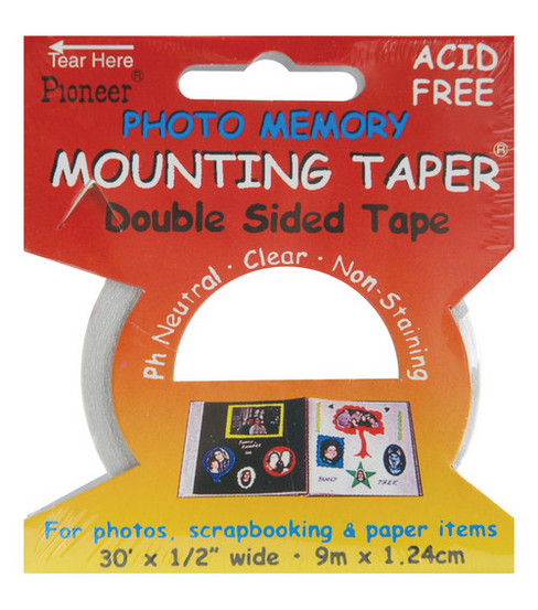 Pioneer 1/2\u0022 Double-Sided Mounting Tape-30\u0027