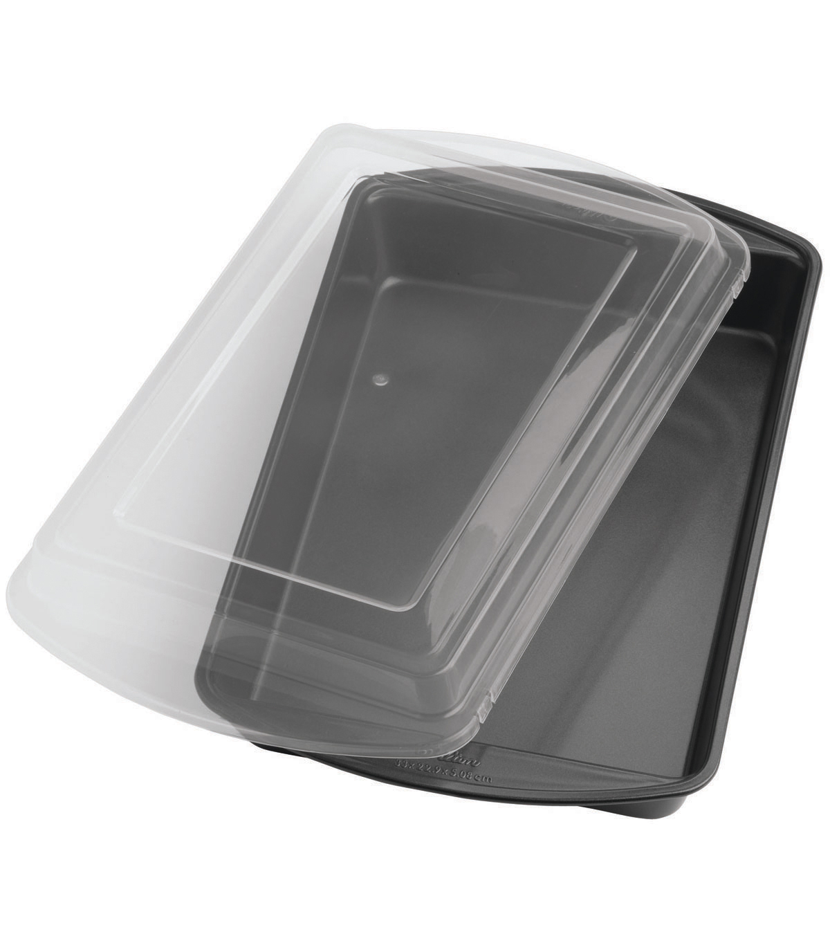 Wilton® Perfect Results 13\u0022X9\u0022 Oblong Cake Pan W/Cover