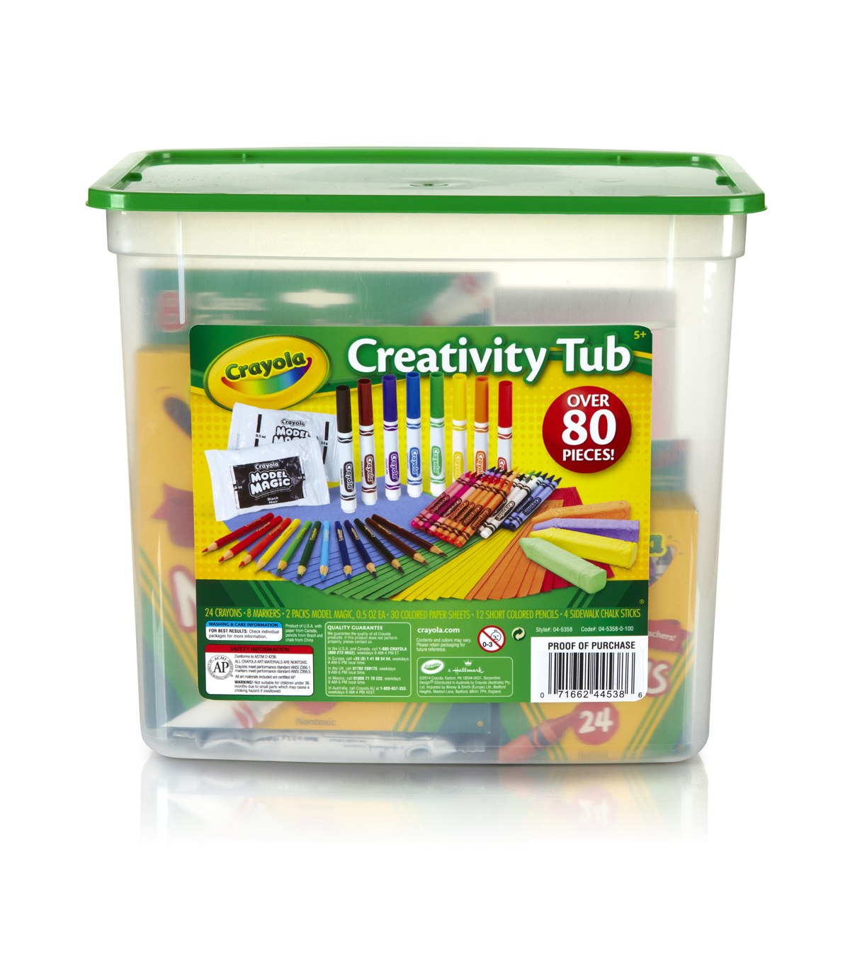 Crayola Creativity Tub-