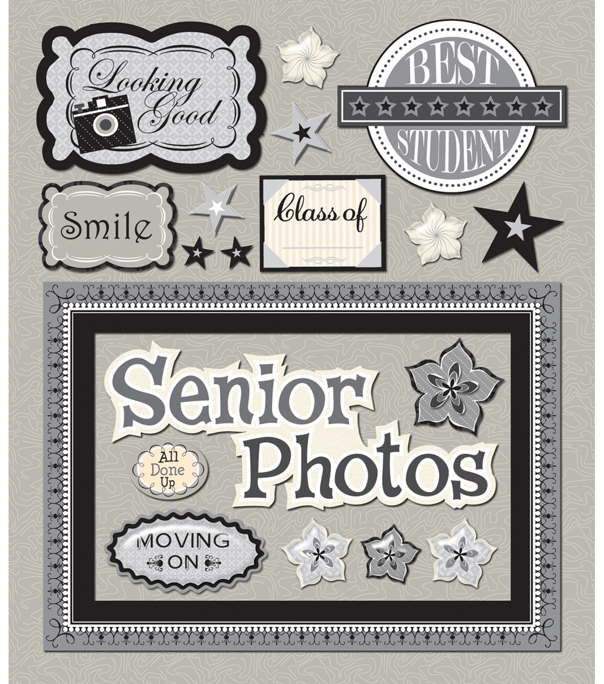 Sticker Medley-Senior Pictures