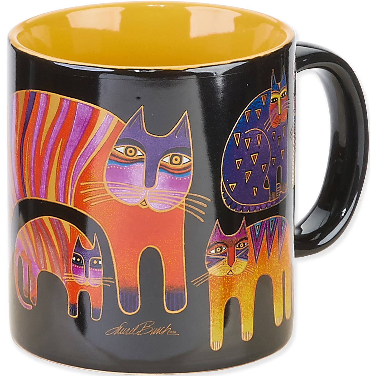 Laurel Burch Feline Mug