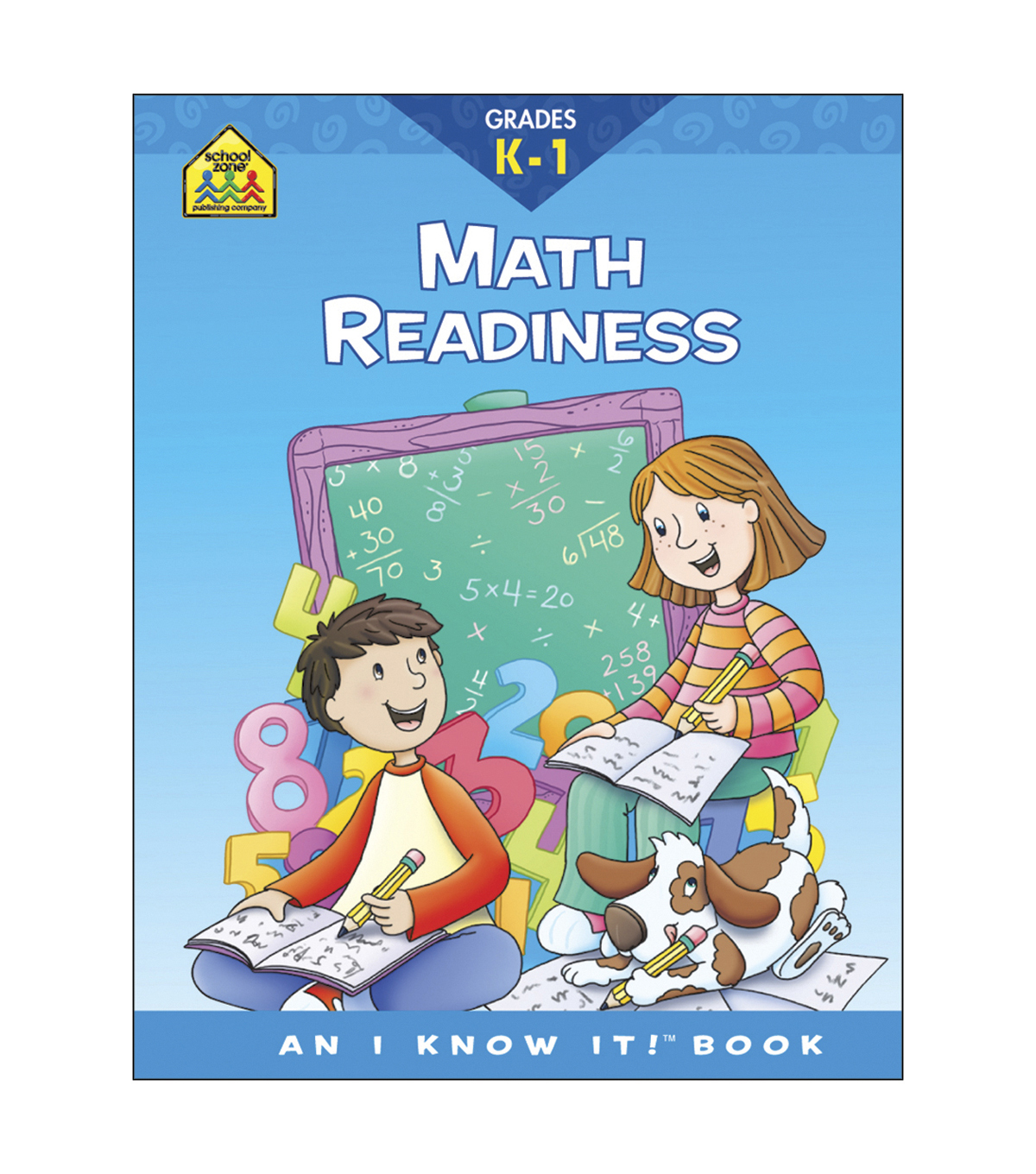 Curriculum Workbooks 32 Pages-Math Readiness Grades K-1