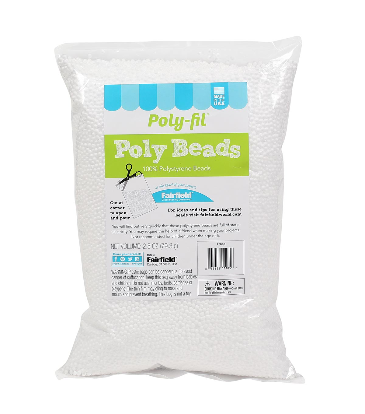 Poly-Fil® Poly Beads 2.8 ounce Bag