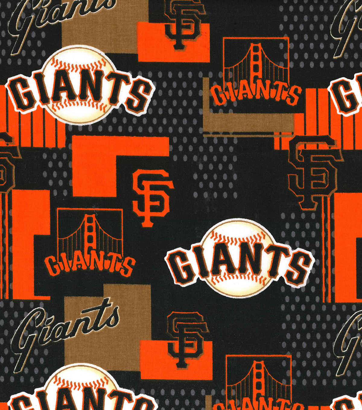 "San Francisco Giants Cotton Fabric 58""-Patch"