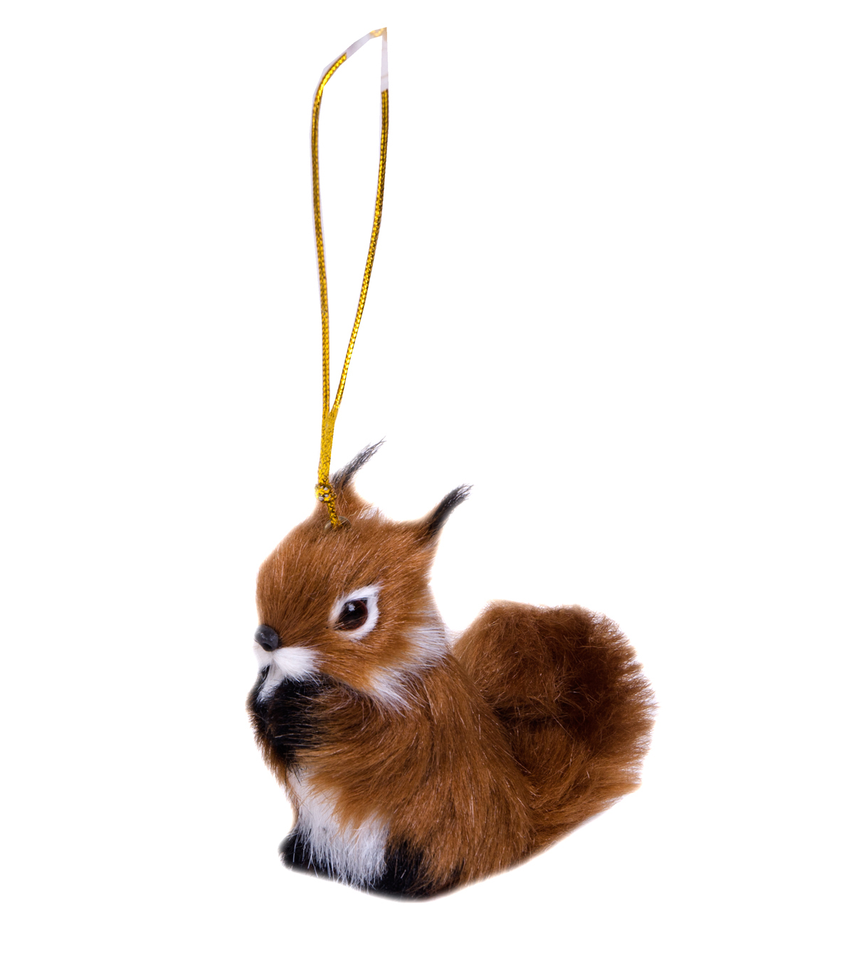 Maker\u0027s Holiday Furry Squirrel Ornament