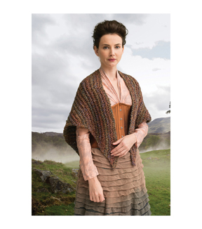 Outlander Garment Crochet Kit-Arrival at Lallybroch Shawl