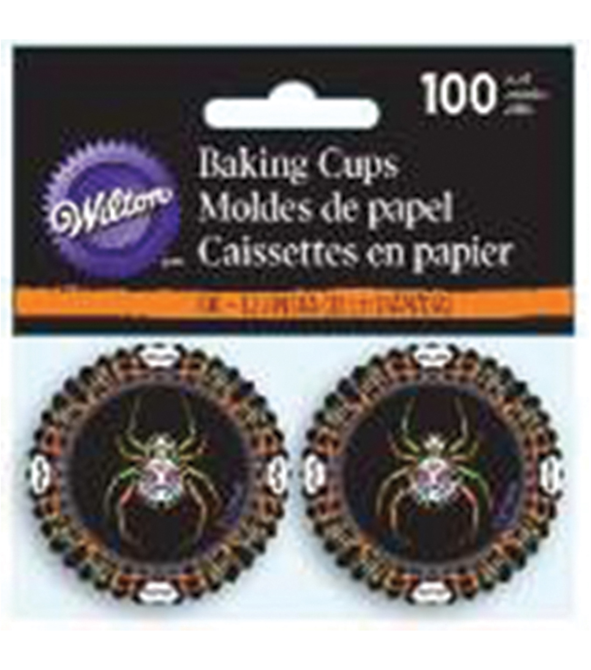 Wilton® 100pcs Mini Baking Cups-Deadly Soiree