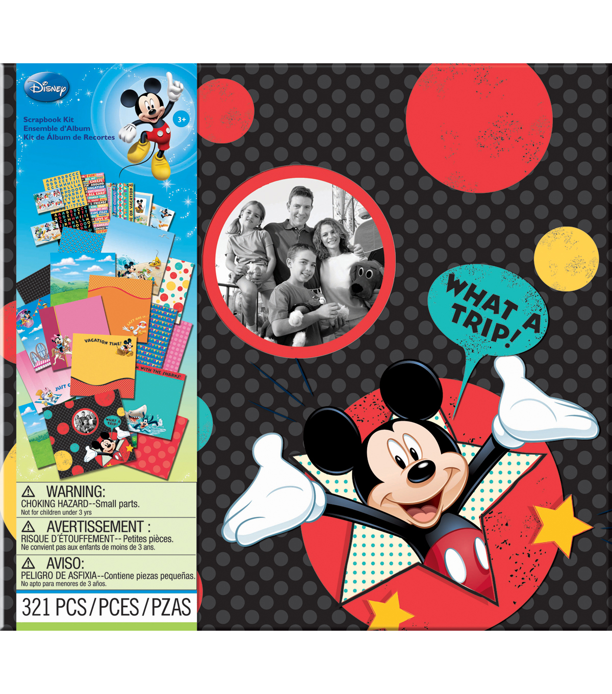 EK Success Disney Vacation Scrapbook Kit 12\u0022X12\u0022-
