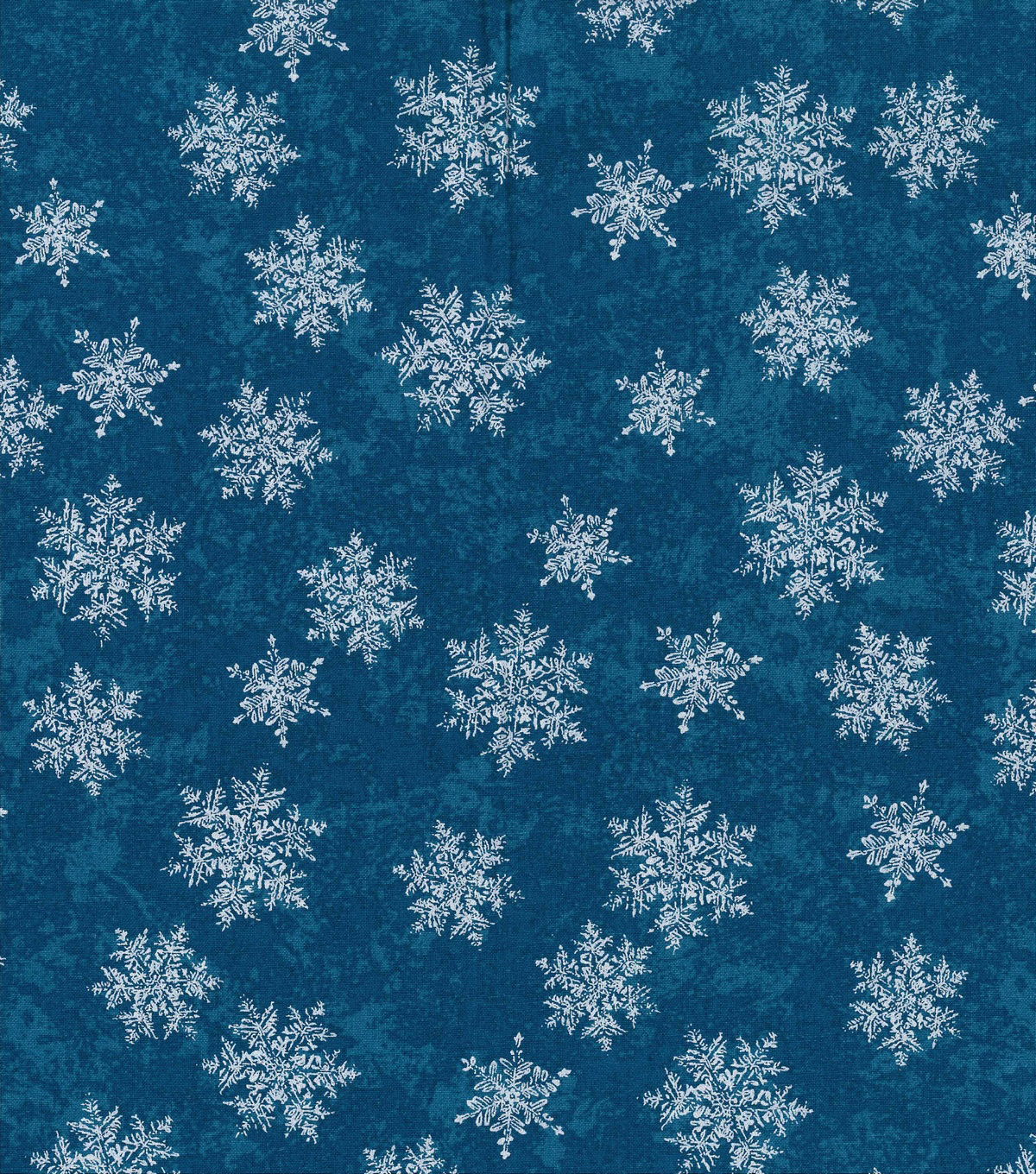 Christmas Cotton Fabric 43\u0022-Blue Pearl Tonal Snowflakes