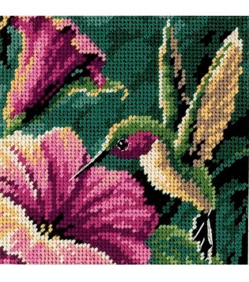Dimensions Hummingbird Drama Mini Needlepoint Kit | JOANN