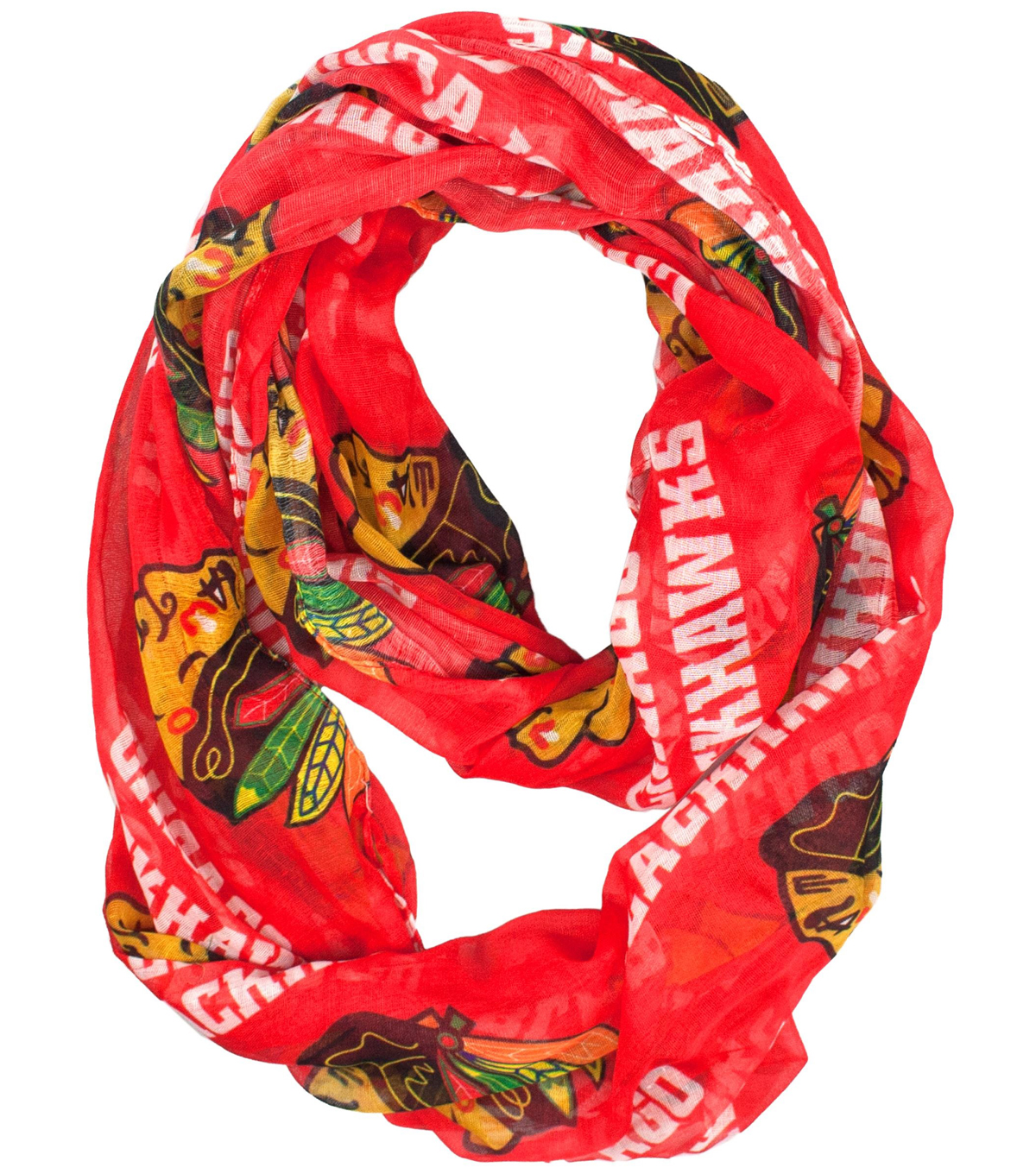Chicago Blackhawks Infinity Scarf