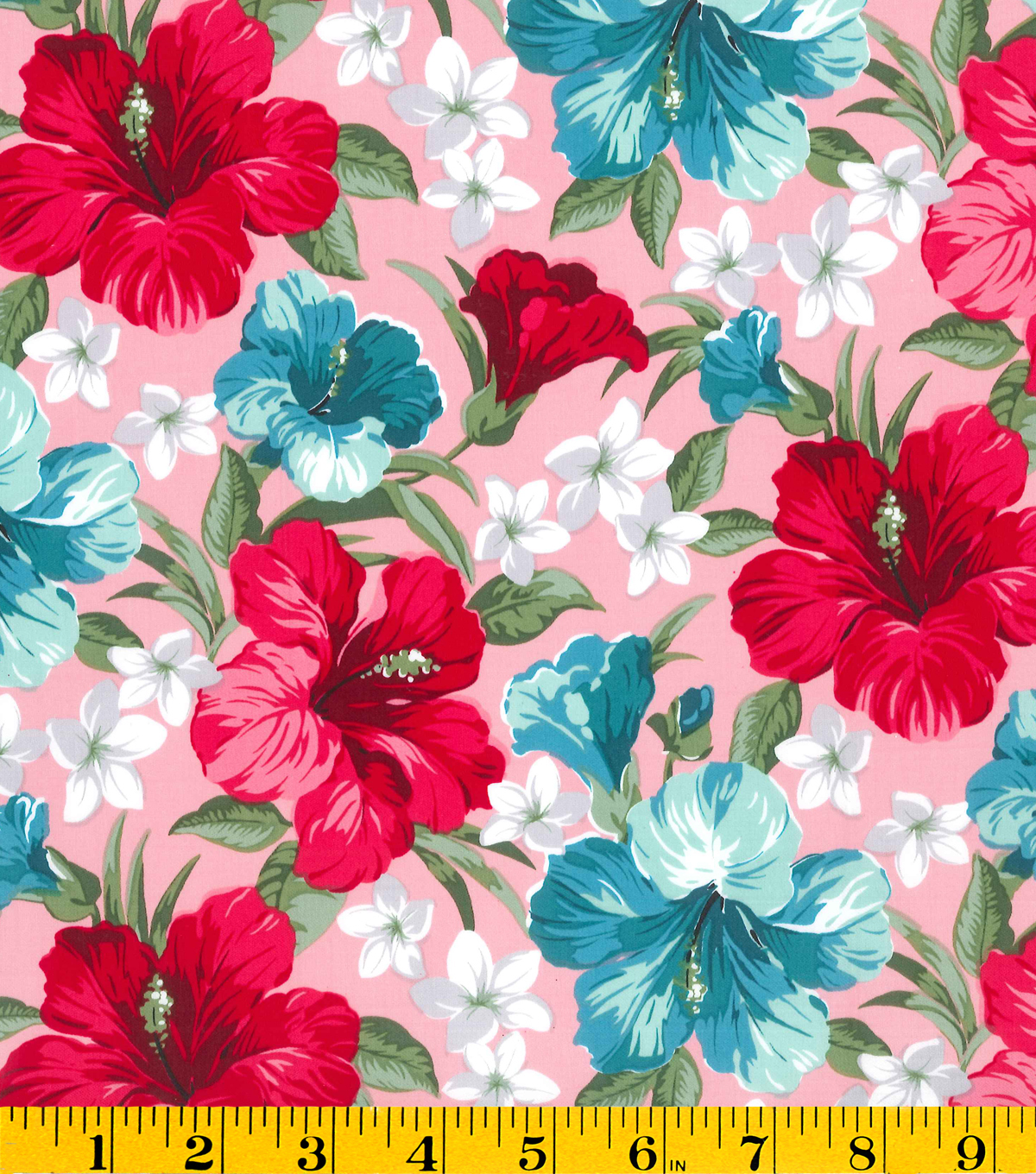 Gertie Collection Fabrics-Sateen Tropical Pink