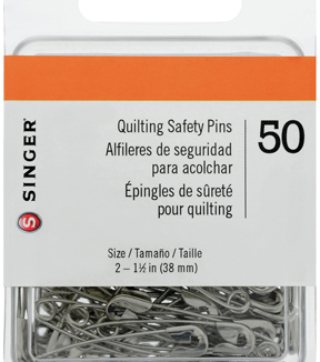 50 Quilter's Safety Pins