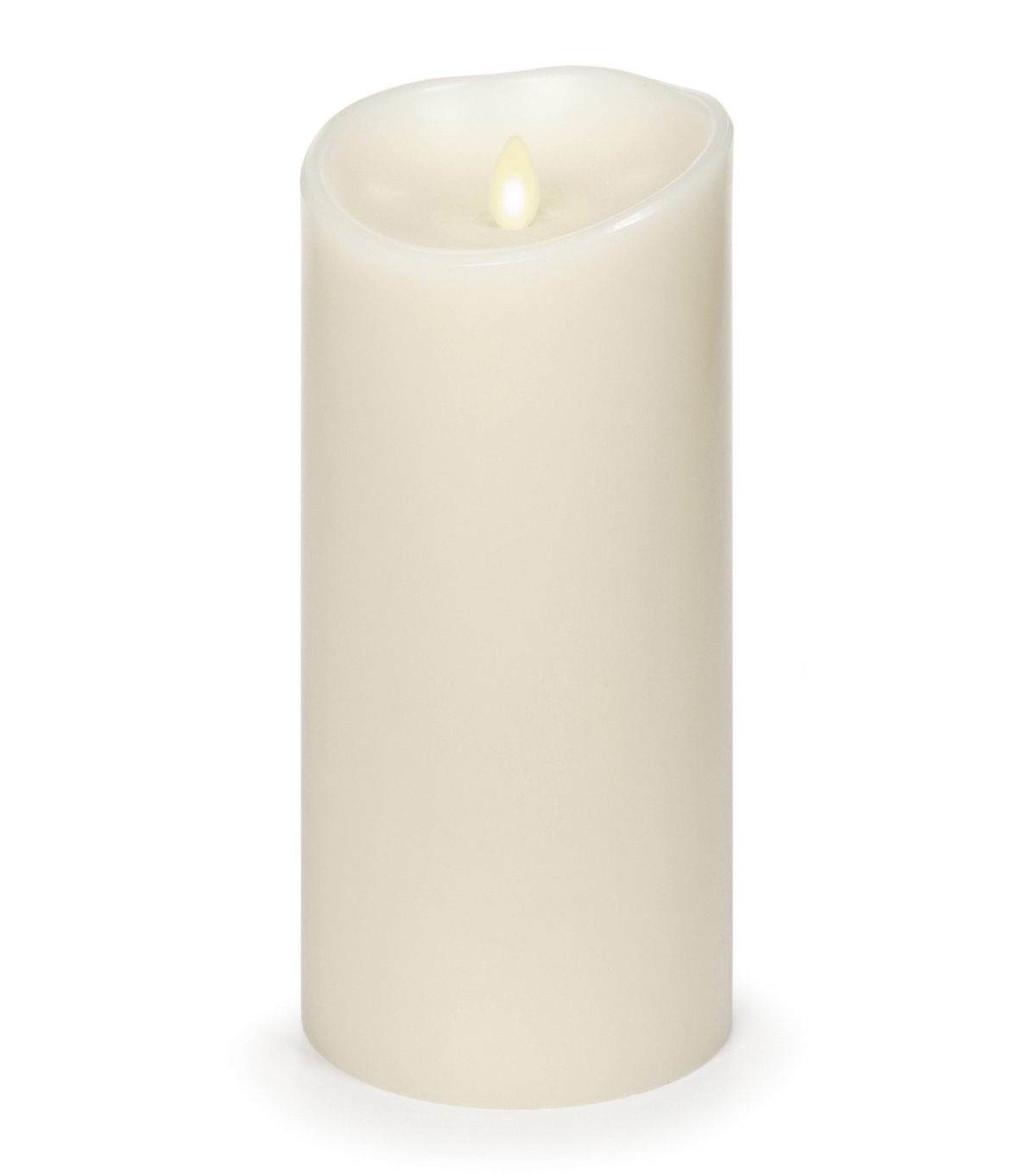 Luminara® Candle & Light Collection Luminara 9 In Ivory Timer Vanilla Scent